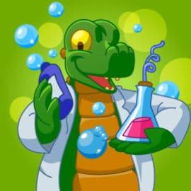 Fête d'anniversaire à domicile pour les enfants de 5 à 8 ans avec le thème 'bulles en folie'
