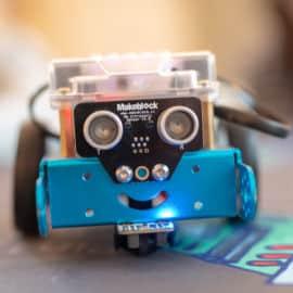 Anniversaires à la maison pour enfants Programmeur de robots